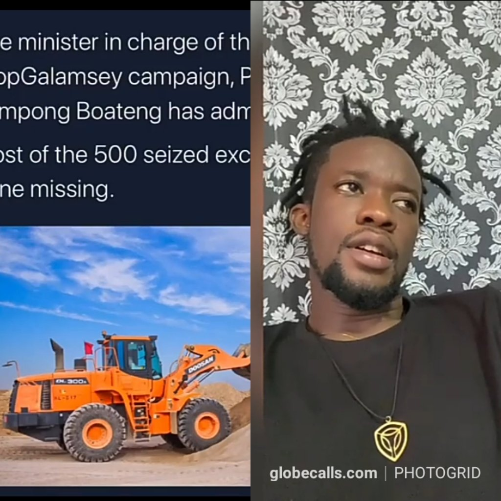 Video: Worlasi Reacts To Missing Excavators Story 2 » Best Tech News, Gadgets, FinTech and Telco news.