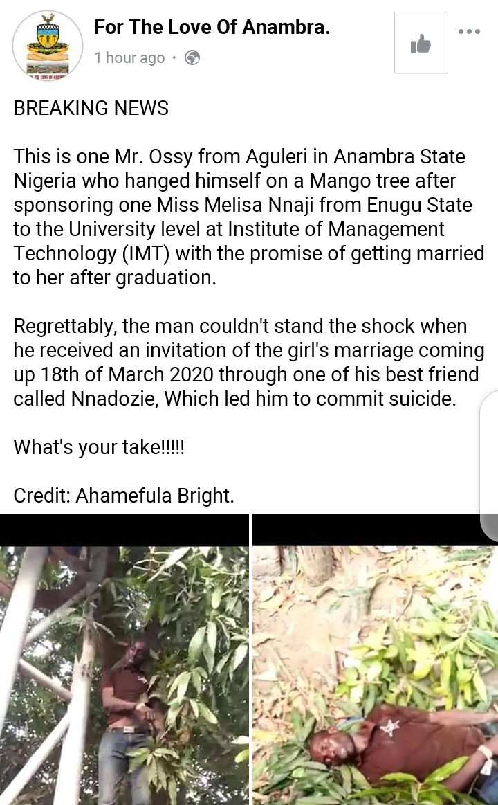 He Commits Suicide After His Fianceé Sent Him A Wedding Invitation 9 » Best Tech News, Gadgets, FinTech and Telco news.