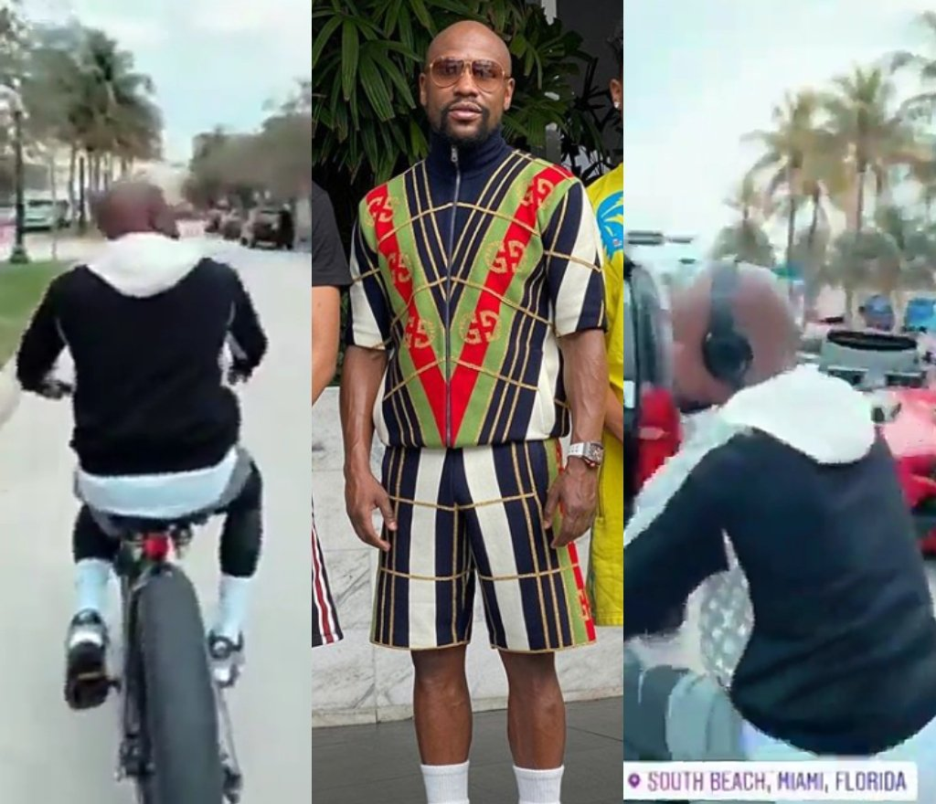 Video: Floyd Mayweather 'Dropped' His Cars For A Bike 2 » Best Tech News, Gadgets, FinTech and Telco news.