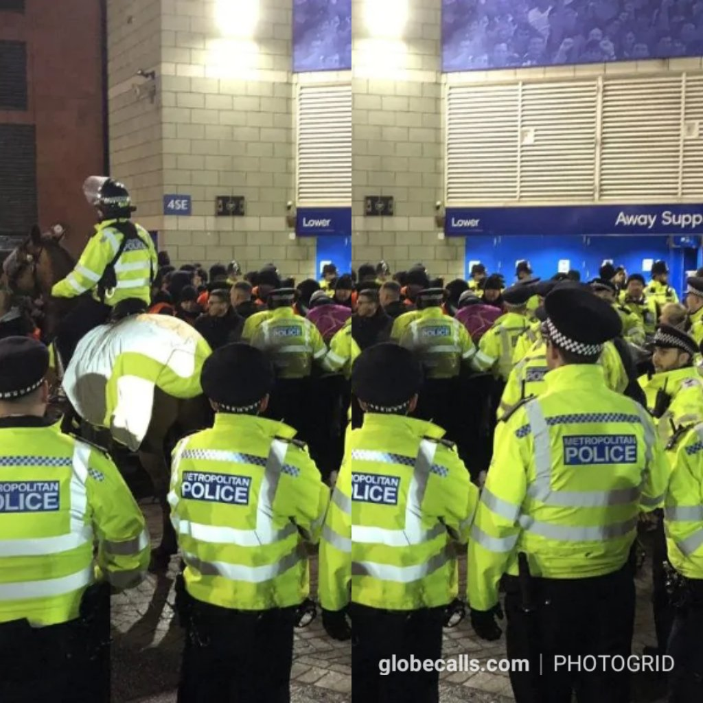 Bayern Fans Storms Chelsea Barriers, Many Arrested. 2 » Best Tech News, Gadgets, FinTech and Telco news.