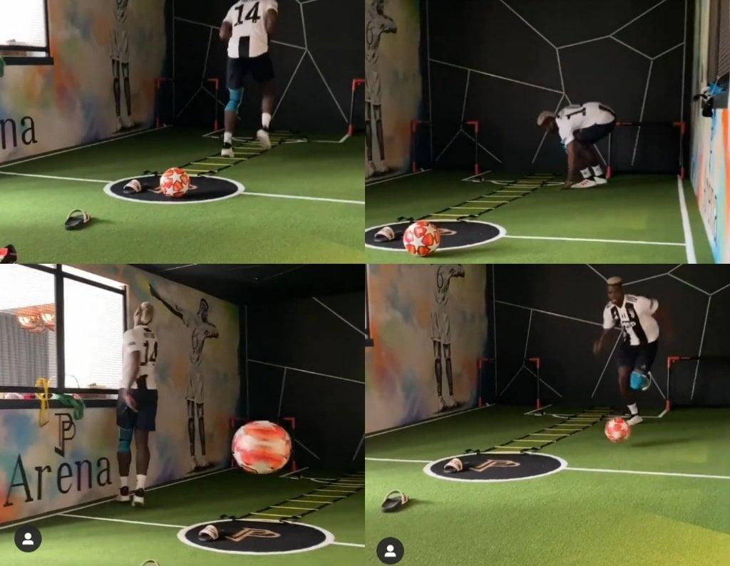 Paul Pogba Wears Juventus Jersey In Quarantine Training 2 » Best Tech News, Gadgets, FinTech and Telco news.