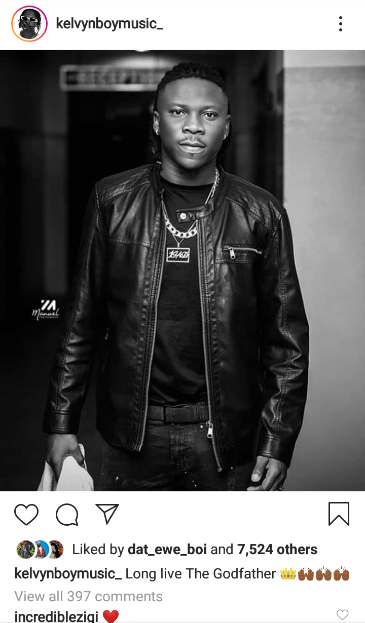 Kelvynboy Writes To Stonebwoy On His Birthday. 1 - Your source of trusted information.