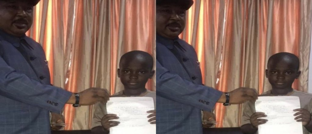 8 Years Old Donates His Lifetime Savings Of Ghc16 To The Fight Against Coronavirus 2 » Best Tech News, Gadgets, FinTech and Telco news.
