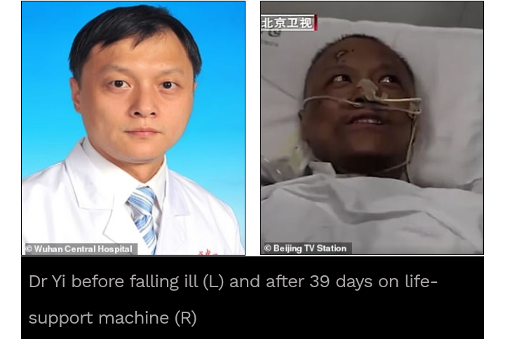 Chinese Doctors' Skin Turn Black After Treatment. 1 - Globecalls.com is a 24/7 Entertainment News Outlet In West Africa Serving Its Readers With The Best In Music, News, Events, And World Happenings.