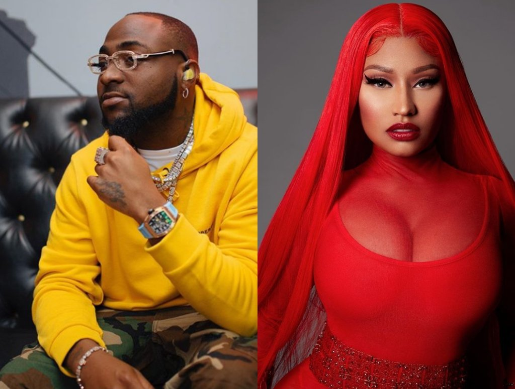 Davido And Nicki Minaj To Release A Song. 2 » Best Tech News, Gadgets, FinTech and Telco news.