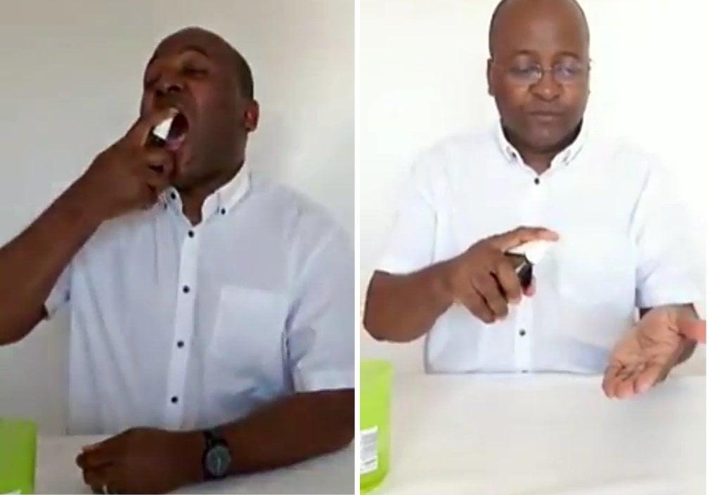 Video: Man Makes A Consumable Sanitizer 2 » Best Tech News, Gadgets, FinTech and Telco news.