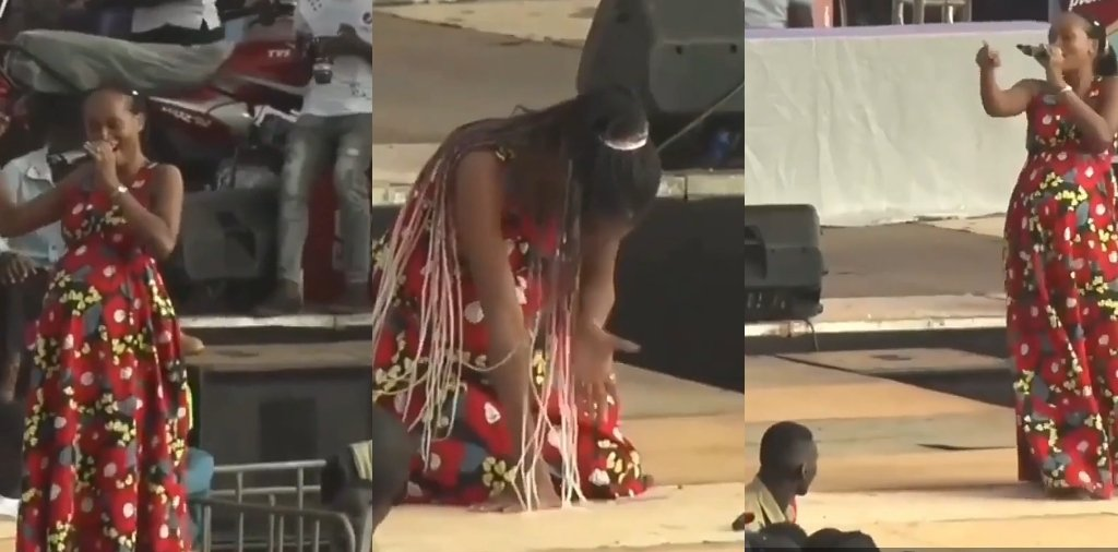 Watch: Moment A Pregnant Lady Went Into Labour During Stage Performance 2 » Best Tech News, Gadgets, FinTech and Telco news.