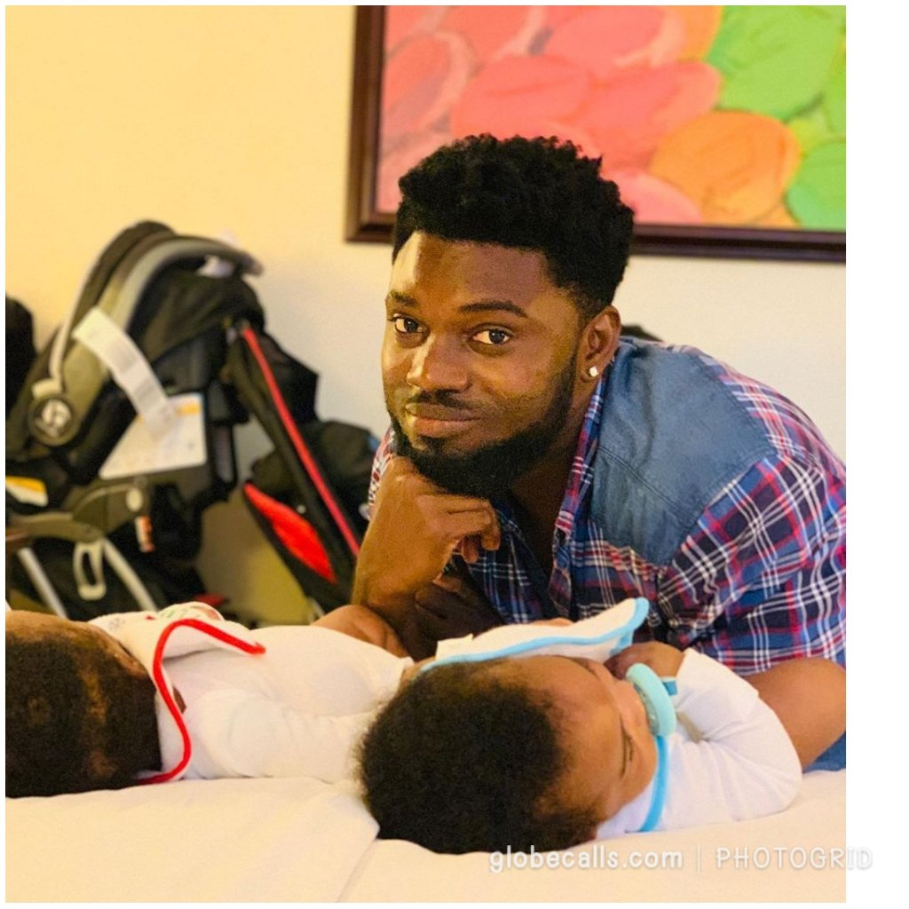 Photos: Rapper Donzy Chaka Flaunts His Twin Babies Online 9 » Best Tech News, Gadgets, FinTech and Telco news.