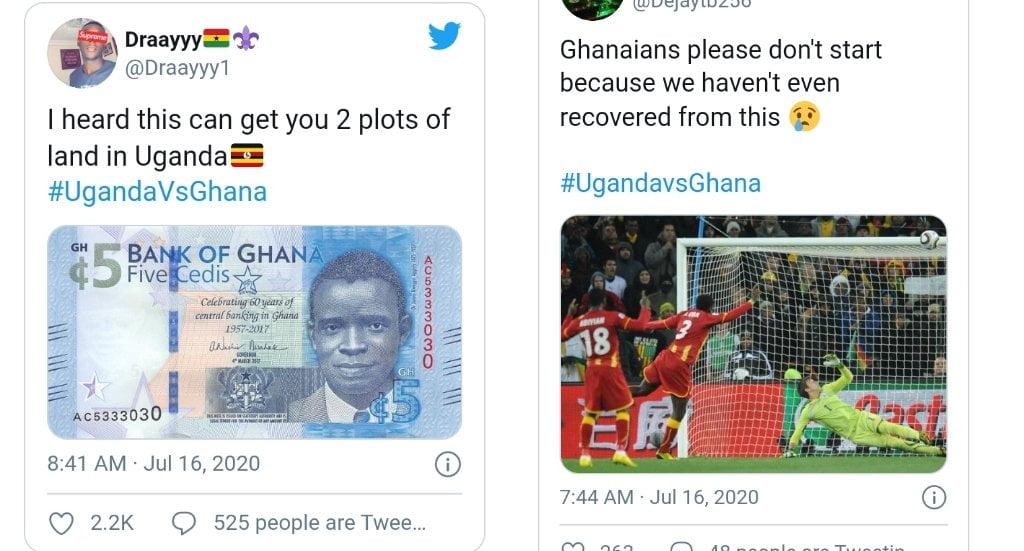 Why Is Ghana Vrs Uganda Trending On Twitter 4 » Best Tech News, Gadgets, FinTech and Telco news.
