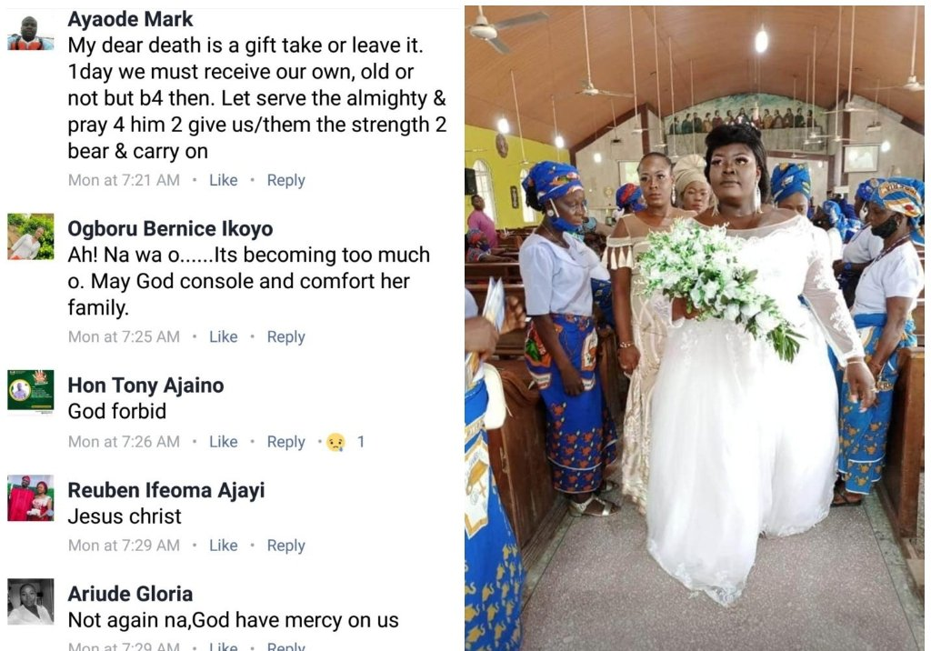 Photos: Friends Mourn A Lady Who Got Married On Saturday And Died On Sunday 11 » Best Tech News, Gadgets, FinTech and Telco news.