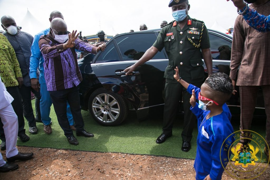Photos: Nana Addo Cuts Sod For New Projects. 7 - Your source of trusted information.