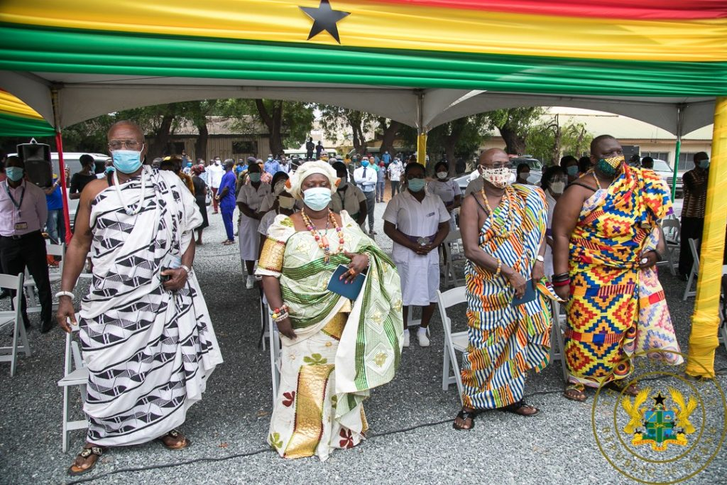 Photos: Nana Addo Cuts Sod For New Projects. 3 - Your source of trusted information.