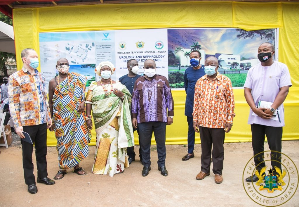 Photos: Nana Addo Cuts Sod For New Projects. 4 - Your source of trusted information.