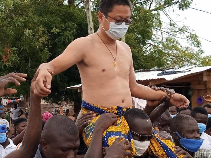 Chinese Man Enstooled As Chief In Kwahu Abetifi 1 - Your source of trusted information.