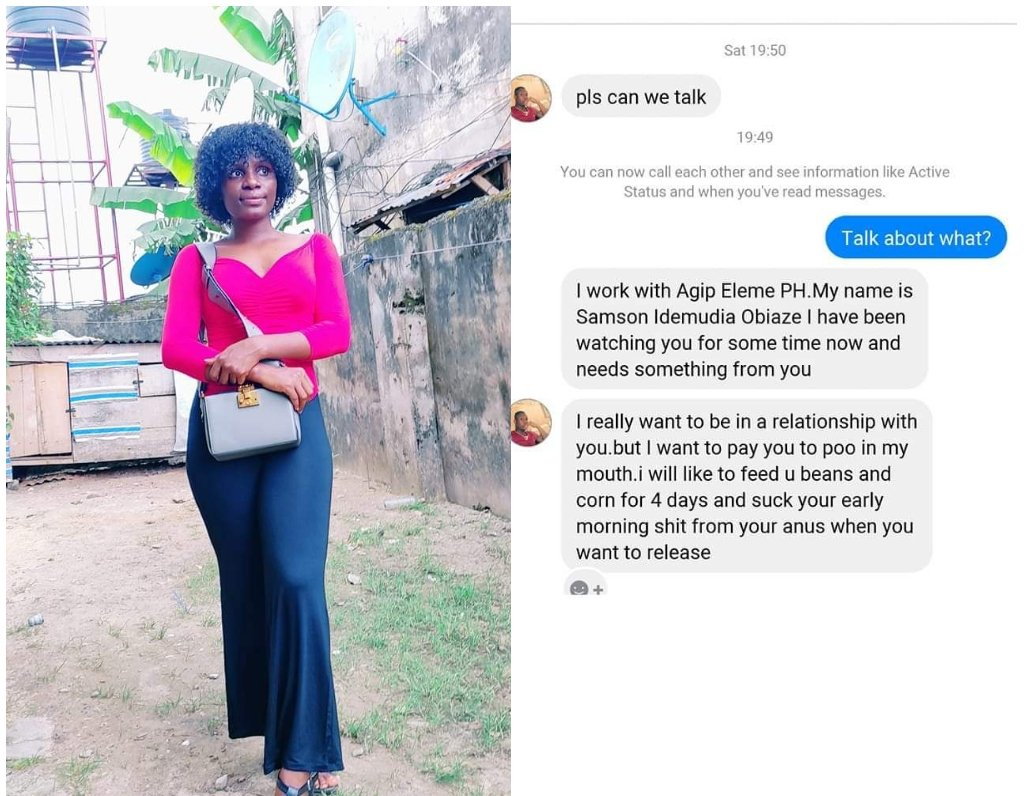 Lady Calls Out A Man Who Offered Her Money To Eat Her Faeces 2 » Best Tech News, Gadgets, FinTech and Telco news.