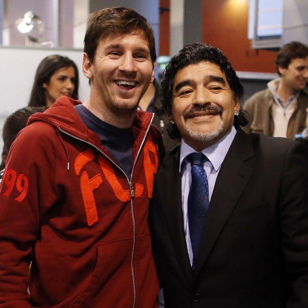 Messi mourns Diego Maradona