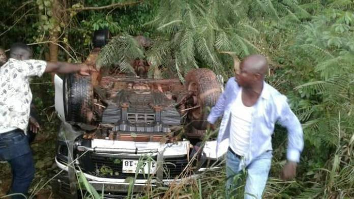 Abronye involved in an accident