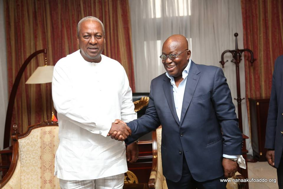 Akufo-Addo Mahama implemented FREE SHS