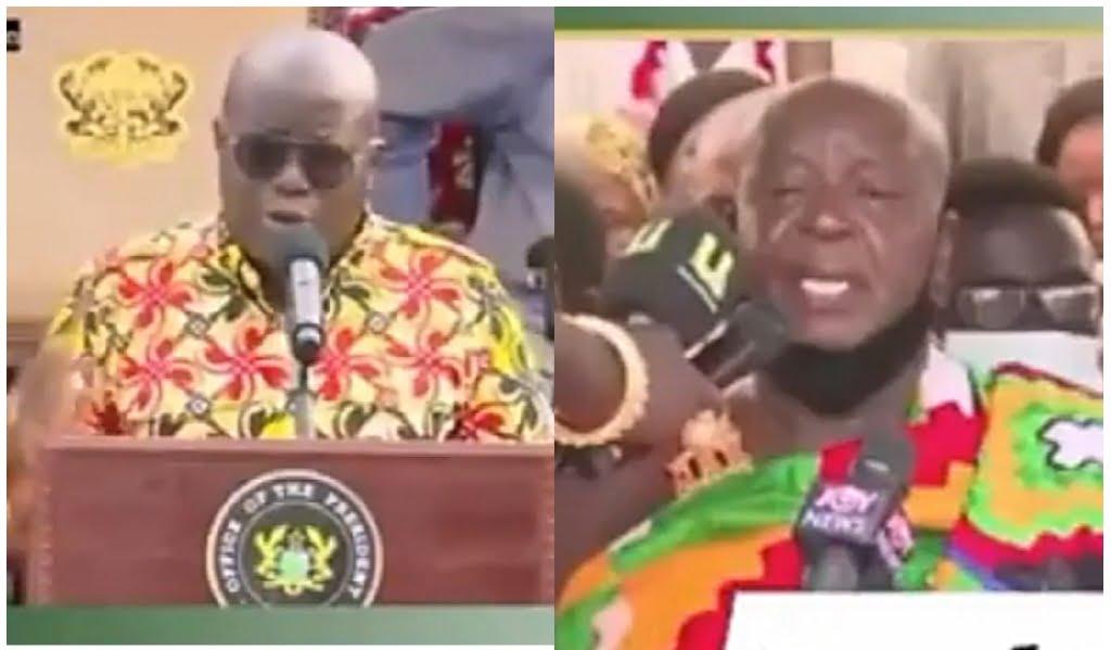 fomena chief challenges Nana addo