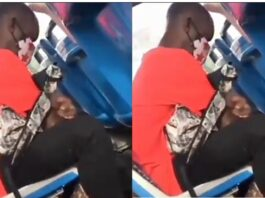 Young man caught videoing a lady's under