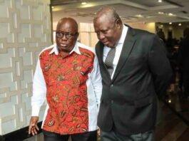 Akufo Addo reacts to Martin Amidu resignation