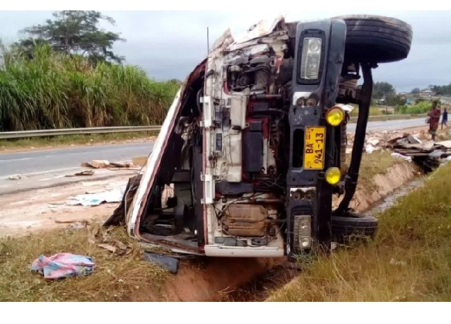 Ghastly Accident Killed 2 NDC Supporters, Scores In A Critical Condition