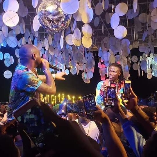 Video+Photos: Energetic Performance By Stonebwoy And Davido At Activate Party 2 » Best Tech News, Gadgets, FinTech and Telco news.