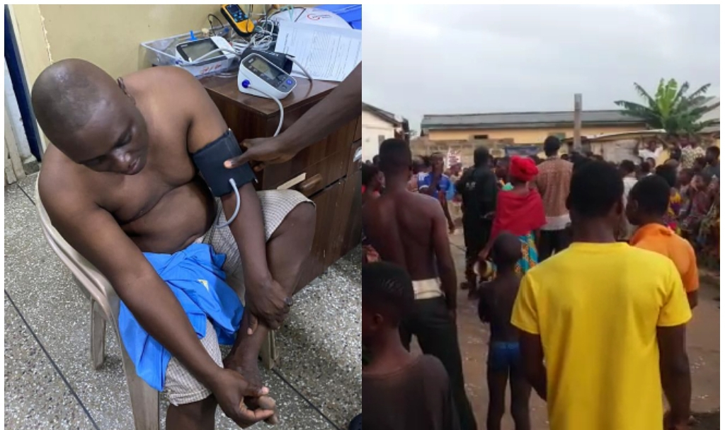 More Photos And Videos Of MP Elect For Keta In Critical Condition. 2 » Best Tech News, Gadgets, FinTech and Telco news.