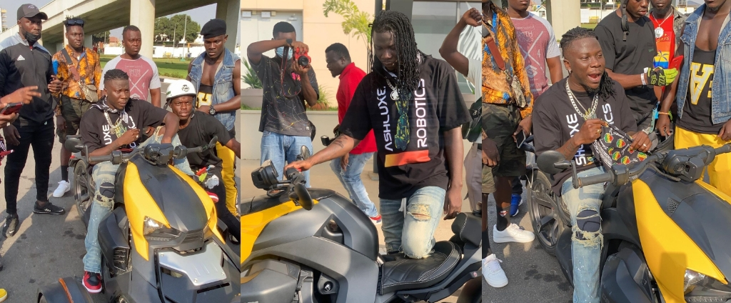 Stonebwoy And His Troops To KIA To Welcome Davido