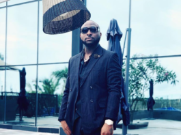 Davido serves as best man at drivers wedding