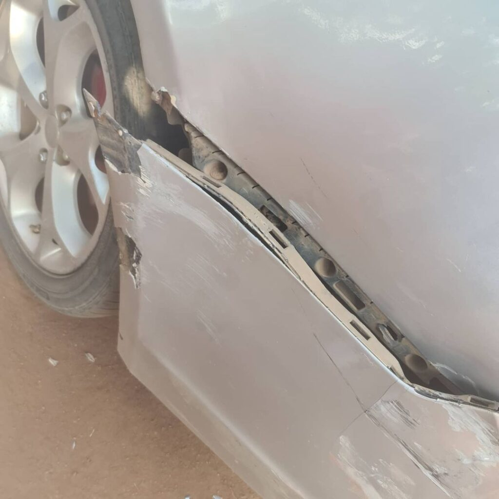 Patapaa And Wife Involved In An Accident