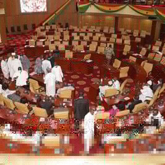 Drama In Parliament: NDC MP Elects Occupies Majority's Position.