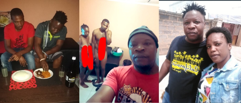 Man Caught His Wife And His Best Friend In The Act, Took Selfie Before the Beating.