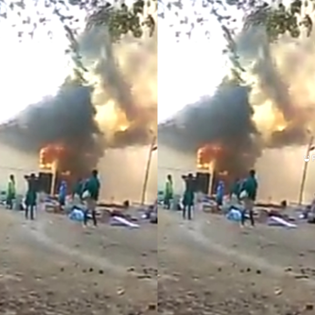 Paga Senior High School Razed Down By Fire