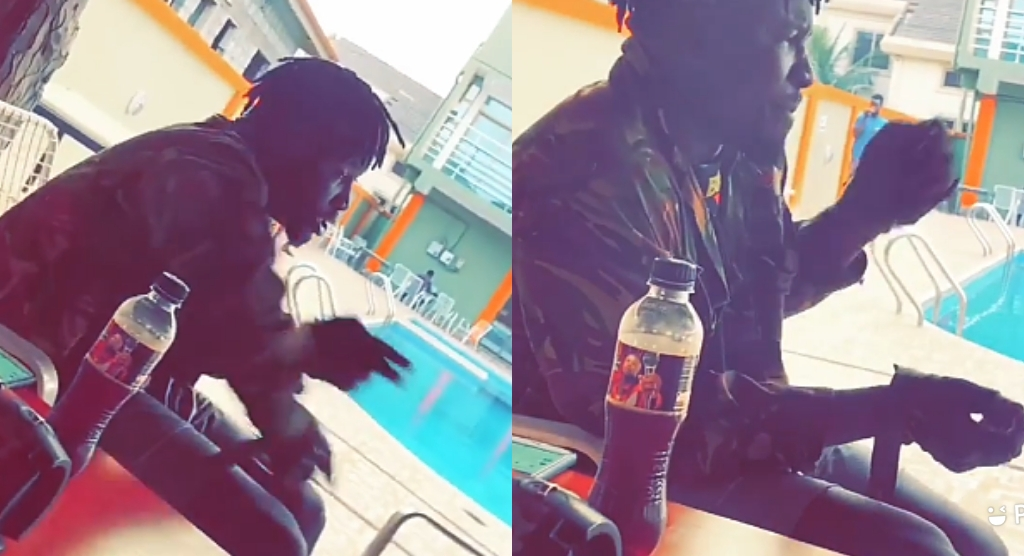 Stonebwoy's Guard Gives Hot Freestyle Than Shatta wale's Signee Captan