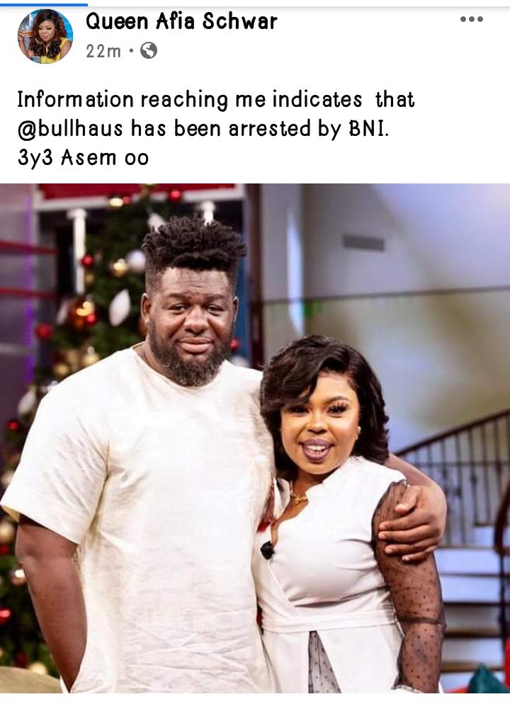 Bulldog Of Bulhaus Arrested Over Comments On United Showbiz