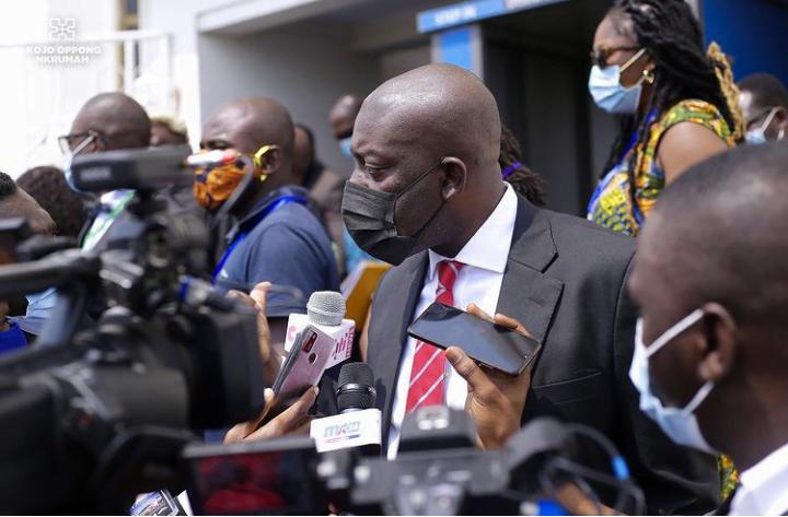 Kojo Oppong Nkrumah Explains Why NDC Filed For EC Interrogation