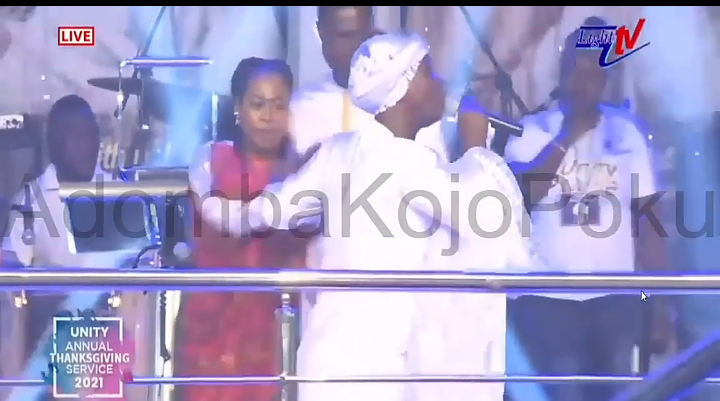 Cecilia Marfo Shuns Joe Blessing On Stage 'Prophetically