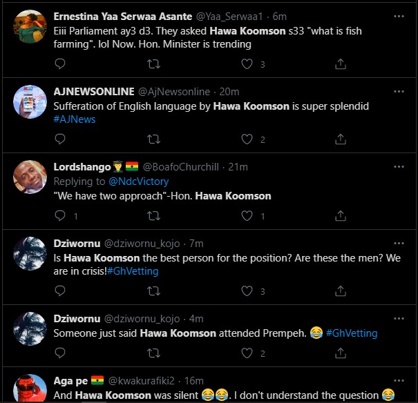 Reasons Ghanaians Think Hawa Koomson Is Unfit For The Fishery And Aquaculture Ministry 17 » Best Tech News, Gadgets, FinTech and Telco news.