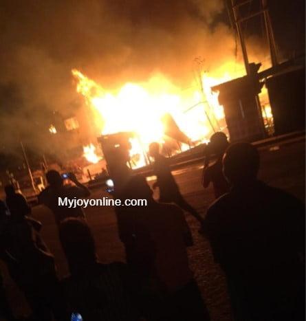 Fire Guts Madina Welfare, Schools And Properties