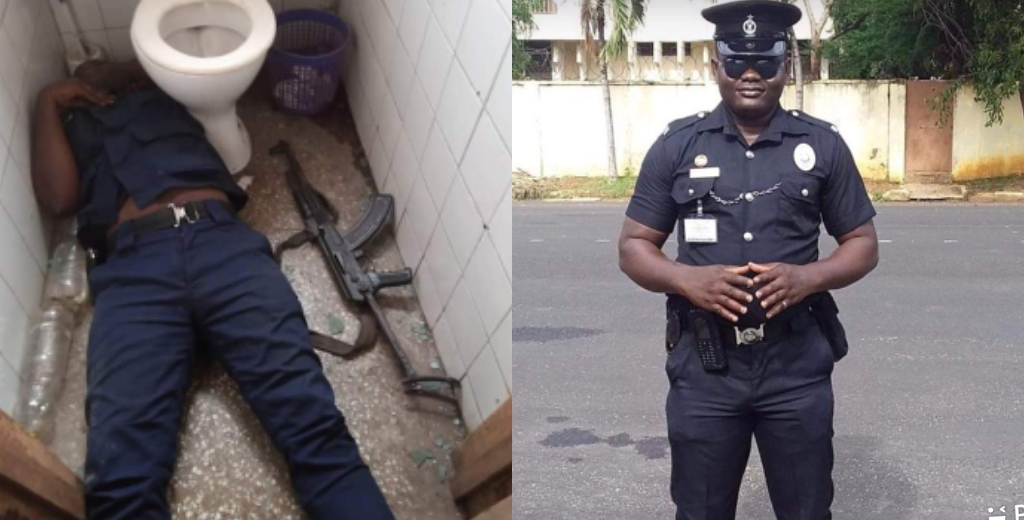 Another Policeman Shot Himself Dead