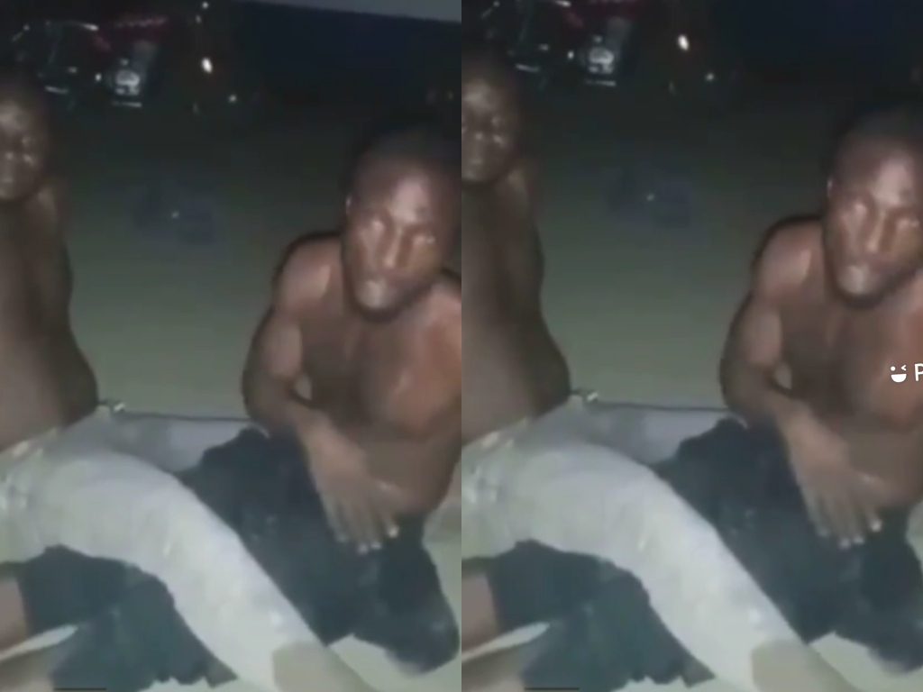 Two Young Men Caught Chopping Each Other's Anus