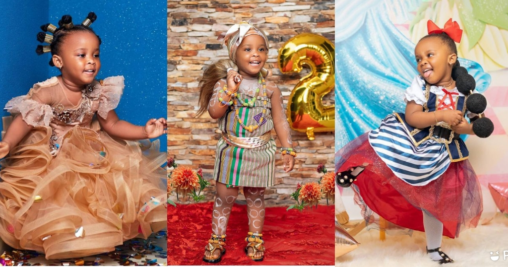 5 Stunningly Beautiful Photos Of Baby Maxin On Her 2nd Birthday.