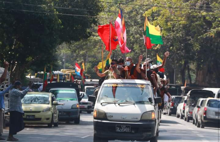 Myanmar Militray Seized Power, Declares 1 Year Emergency 5 - Globecalls.com is a 24/7 Entertainment News Outlet In West Africa Serving Its Readers With The Best In Music, News, Events, And World Happenings.