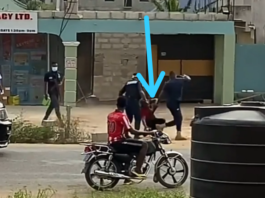 Police Drag Funny Face From His House To Cell.