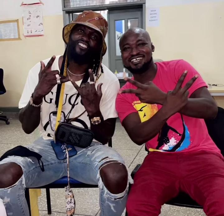 Adebayor Finally Reunites With Funny Face At Psychiatric Hospital