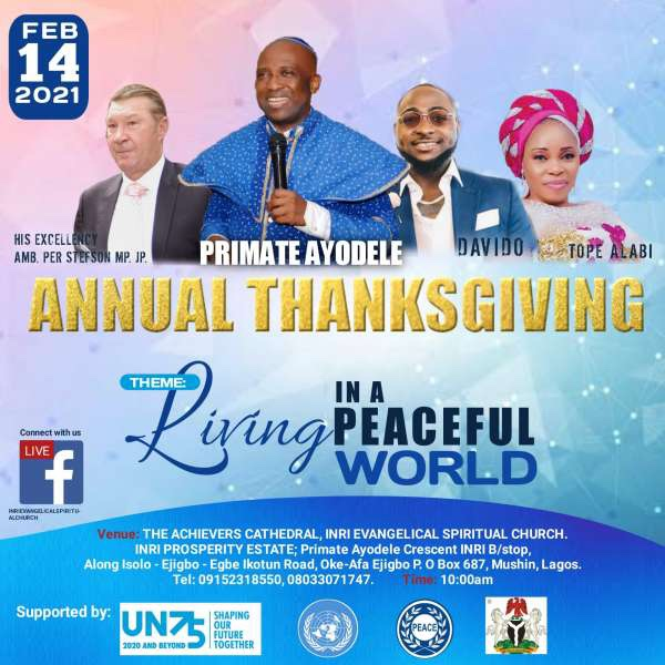 Davido Joins The Choir Enlisted To Perform At A Thanksgiving Service. 7 » Best Tech News, Gadgets, FinTech and Telco news.