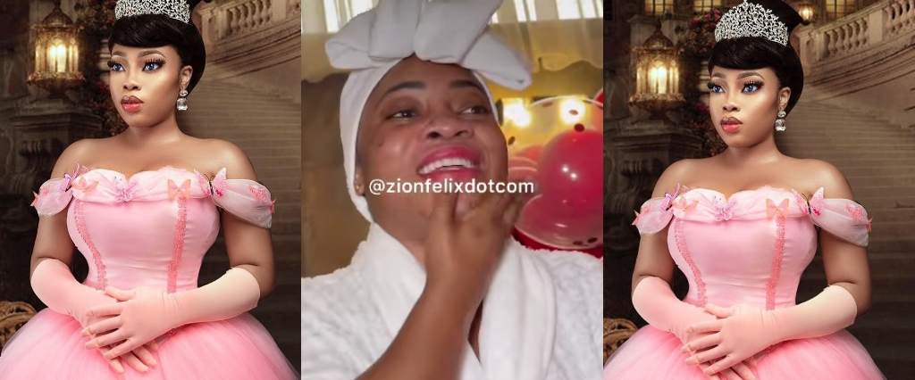 Moesha Buduong Faked Tears Of Happiness After Staging Her Own Birthday Surprise - Netisens