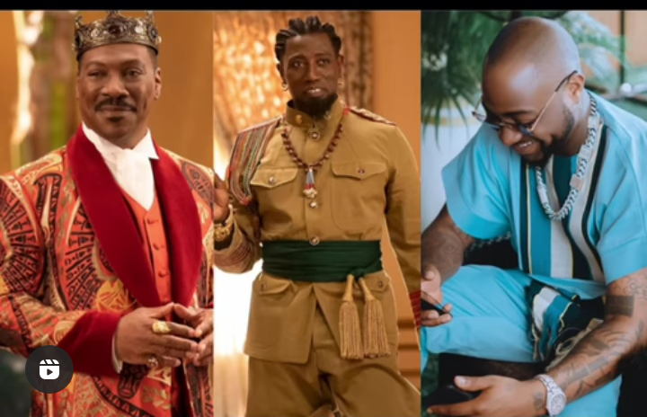 Watch: Davido Performs One Of His Hit Song In The Movie 'Coming To America 2' 2 » Best Tech News, Gadgets, FinTech and Telco news.