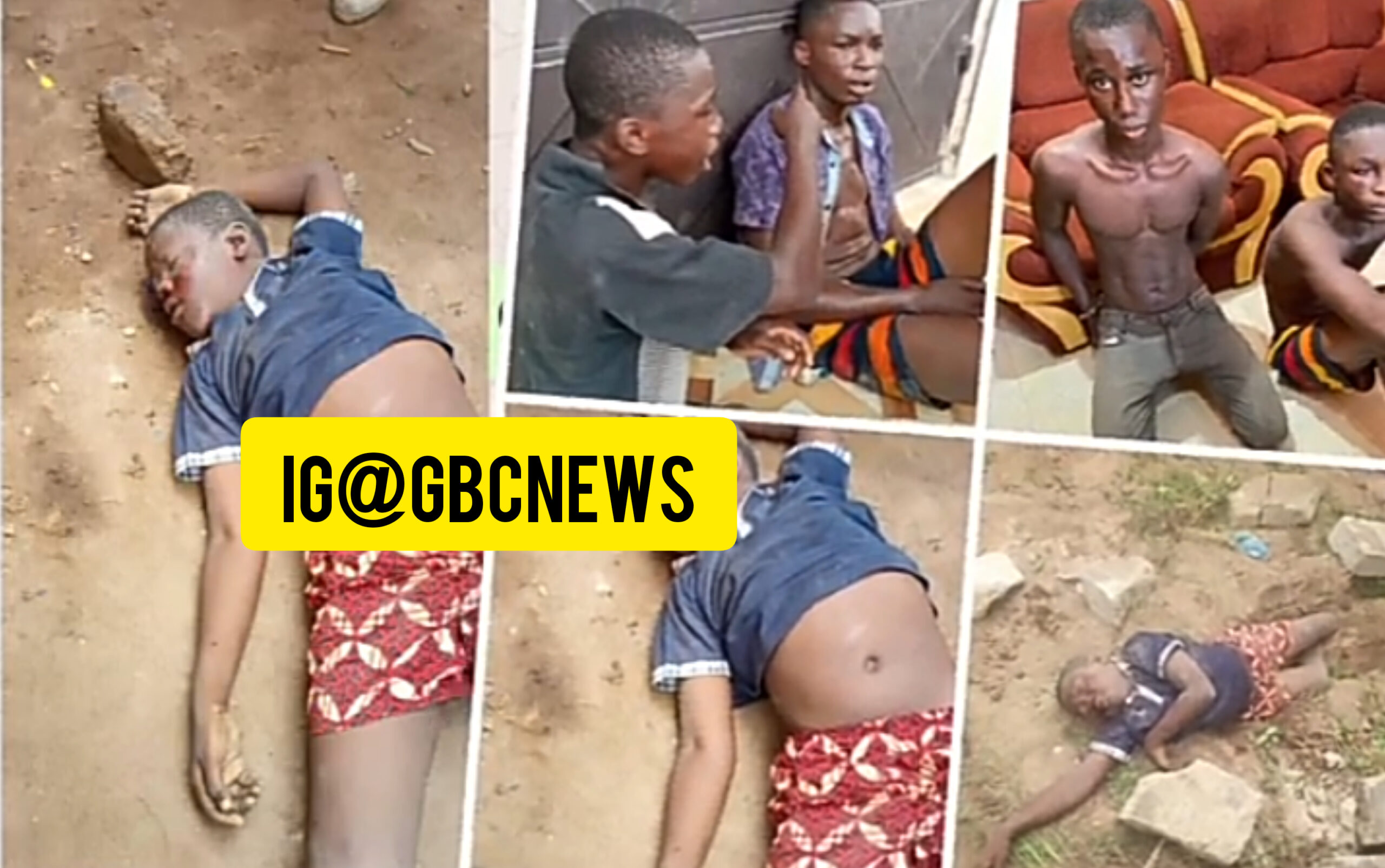 Two Teen Boys Murdered A 10 Years Old For Alleged Rituals In Kasoa